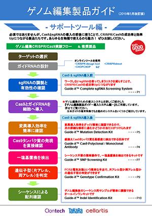 ゲノム編集製品ガイド - サポートツール編-