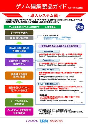 ゲノム編集製品ガイド - 導入システム編-