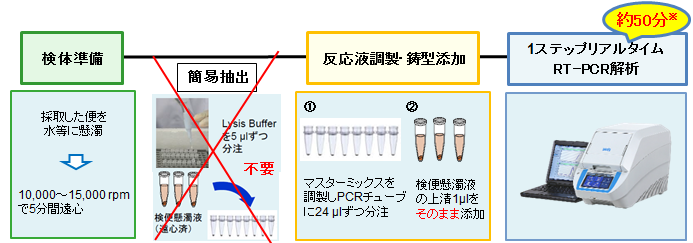 ノロ 検査 キット